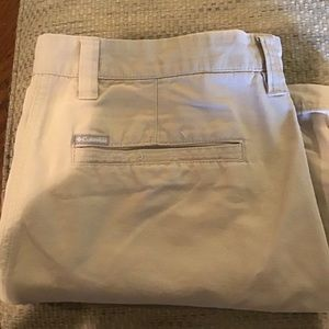 "MEN'S COLUMBIA COTTON Duck 38"" Waist Shorts"